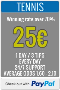 Best Football Tipster - Tennis Prediction Day Service